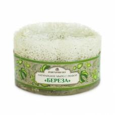 Мыло банное с высокой люфой «Береза»