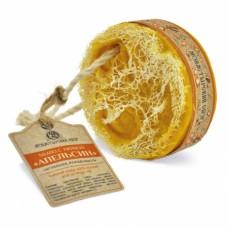 Мыло банное с люфой «Апельсин»