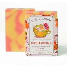 Мыло банное натуральное «Апельсиновое»
